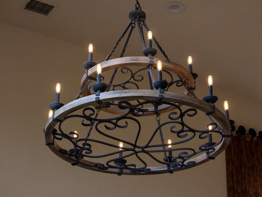 אביזרים משלימים מנורה כפרית