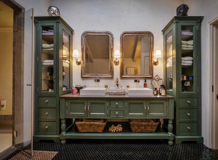 חדר אמבט קטן